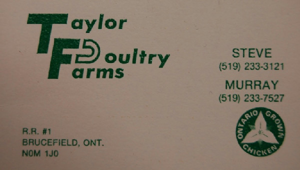 Taylor Poultry Farms